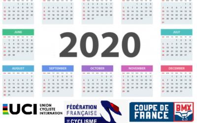 Les secrets du calendrier BMX 2020